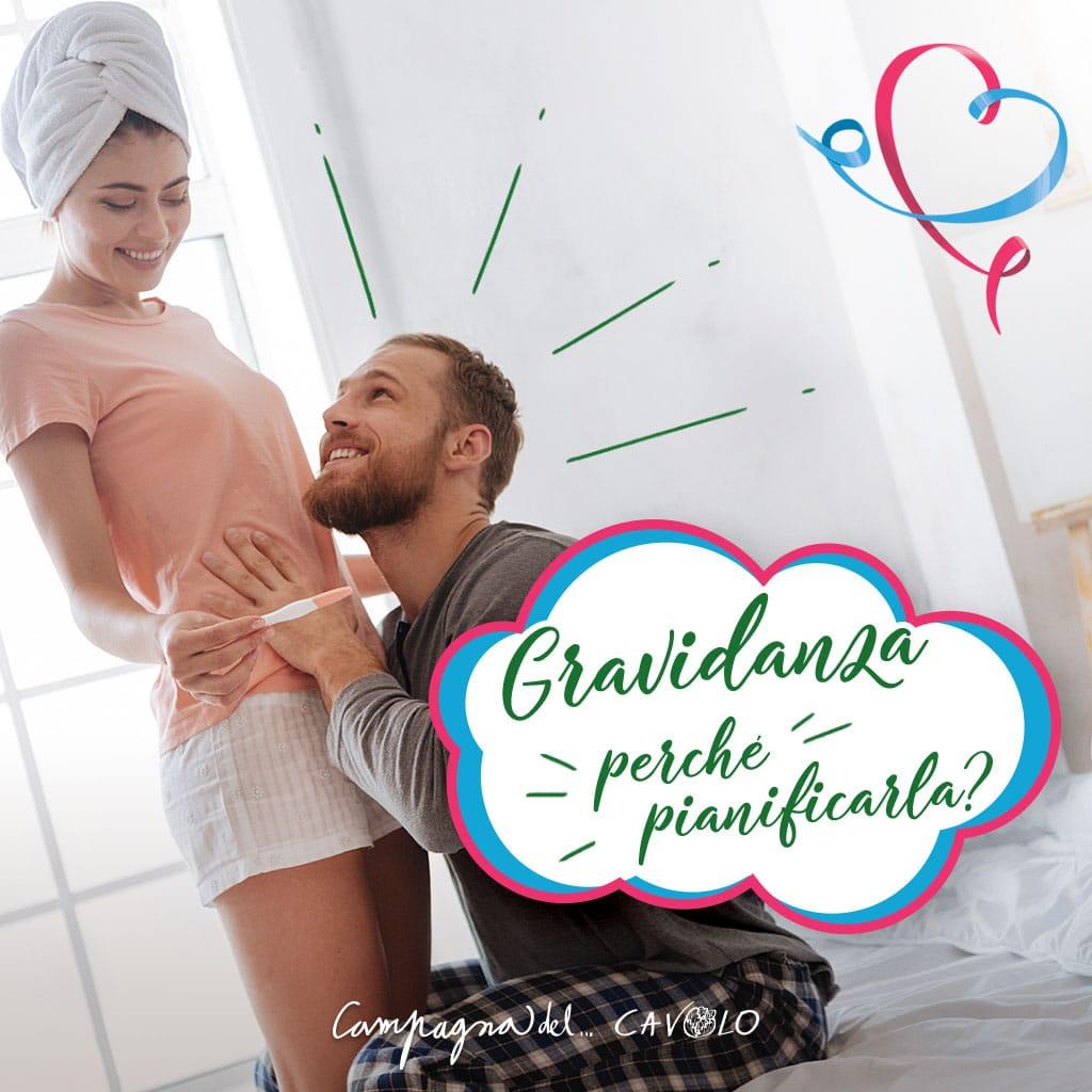 Pianificare gravidanza - Campagna del cavolo - PMA Italia