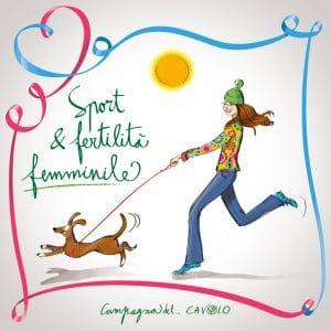 Sport e fertilità femminile - Campagna del cavolo - PMA Italia