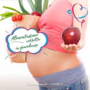 Alimentazione corretta in gravidanza