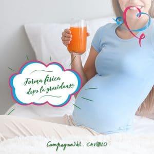 ritornare in forma dopo gravidanza