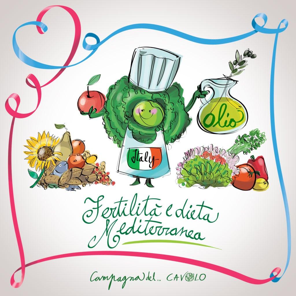 fertilità e dieta mediterranea