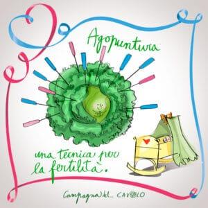 fertilità agopuntura - campagna del cavolo