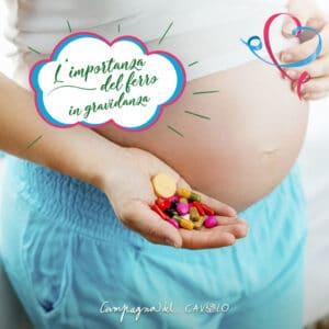 ferro in gravidanza - Campagna del Cavolo