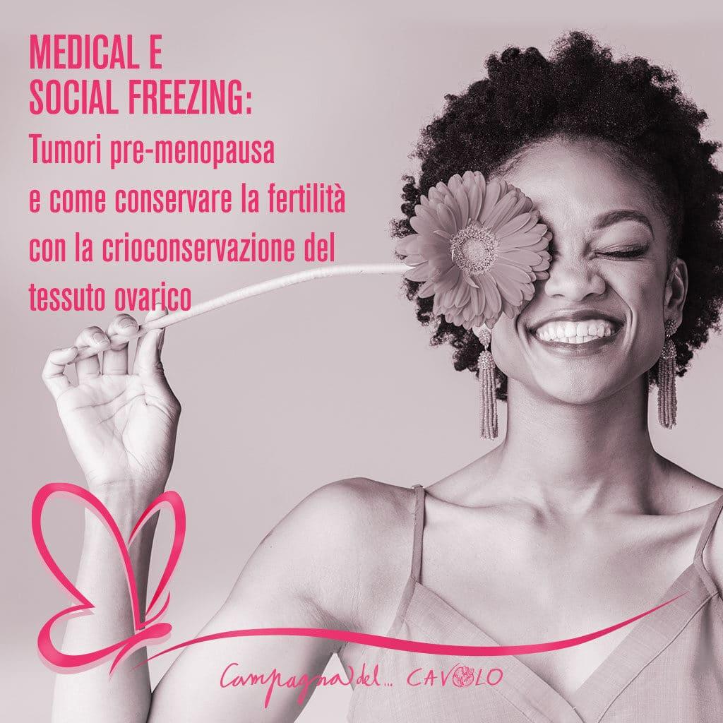 crioconservazione tessuto ovarico
