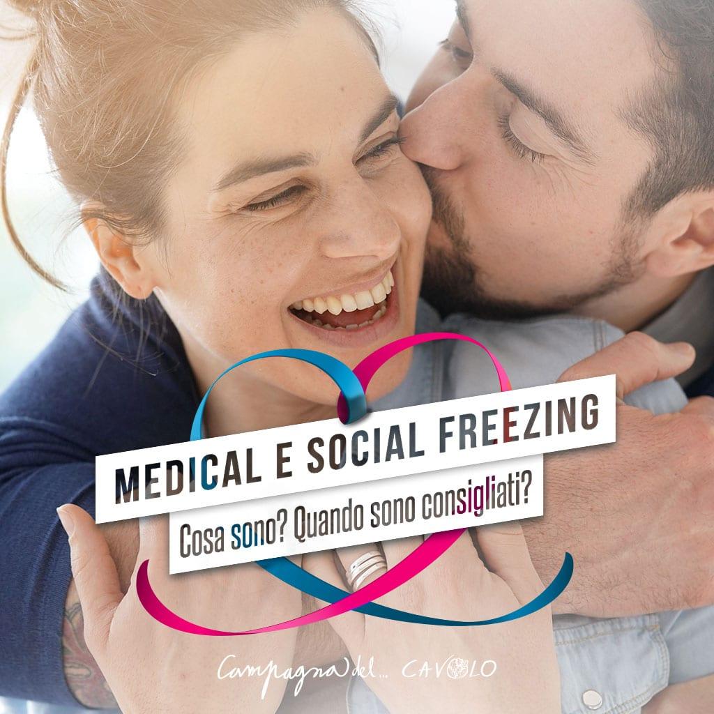 Medical e social freezing: cosa sono – Campagna del Cavolo