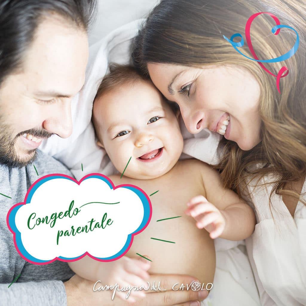 Congedo parentale 2021 – Campagna del Cavolo